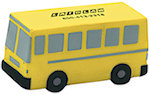 Flat Front School Bus Stress Balls